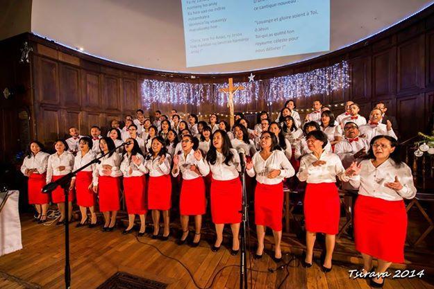 La chorale Fiderana en concert à Noël dernier