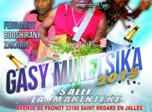 L'affiche de la soirée Gasy Mihetsika