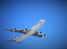 avion au décollage rapatriement