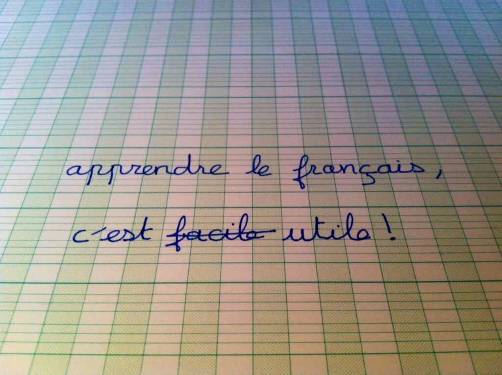 Maîtriser la langue française peut faciliter la vie
