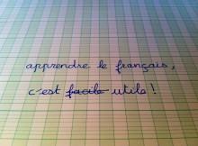 Maîtriser la langue française peut faciliter la vue (photo MCF)
