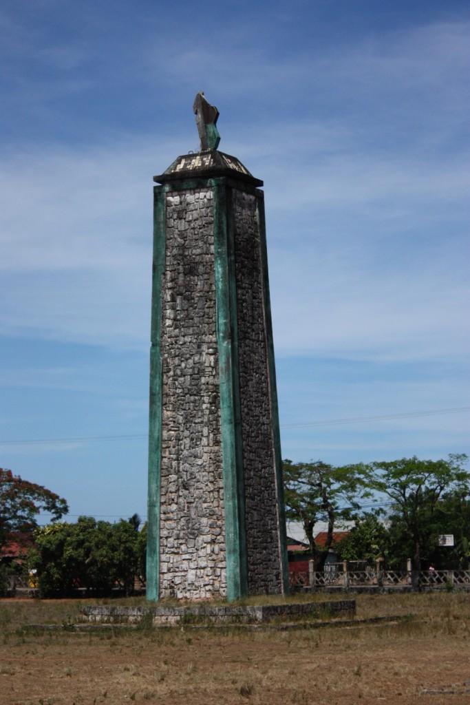 Monument de l'indépendance à Manakara 29 mars 1947