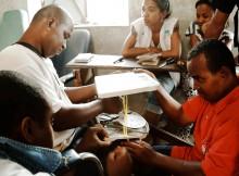 Jumeaux de Mananjary, ils dirigent aujourd'hui une ONG (Photo Paul Correia)